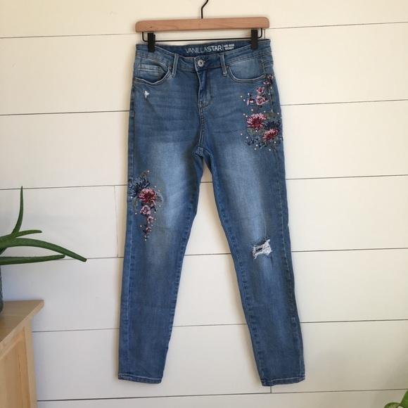Vanilla Star Denim - High waisted skinny jeans mid rise jeggings
